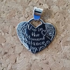 Inspirational Jewelry Live In The Moment